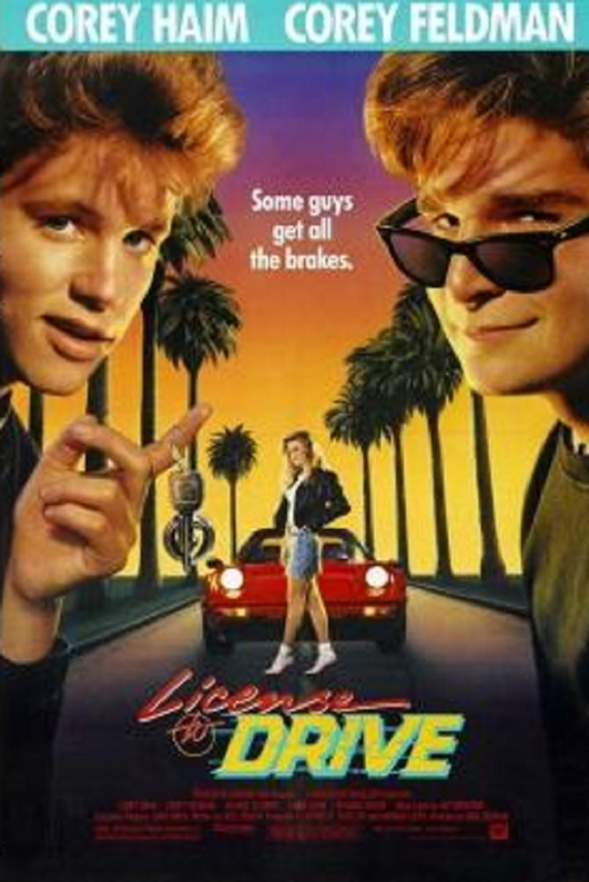 License to Drive eighties example