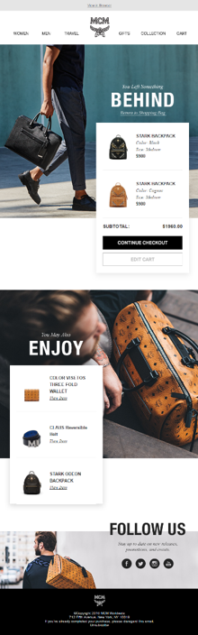 MCM Email Customization Example