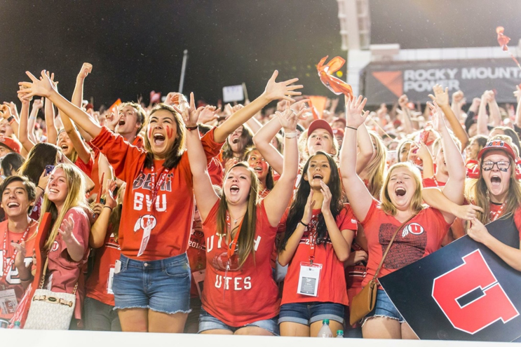 University of Utah Soccer Student Section