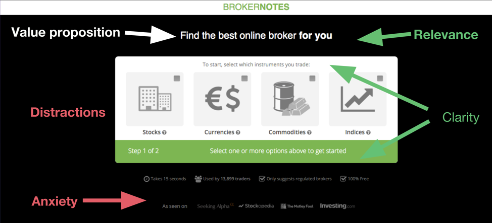 Broker Notes Form Example