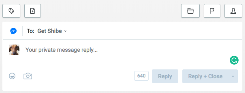Buffer Reply Example